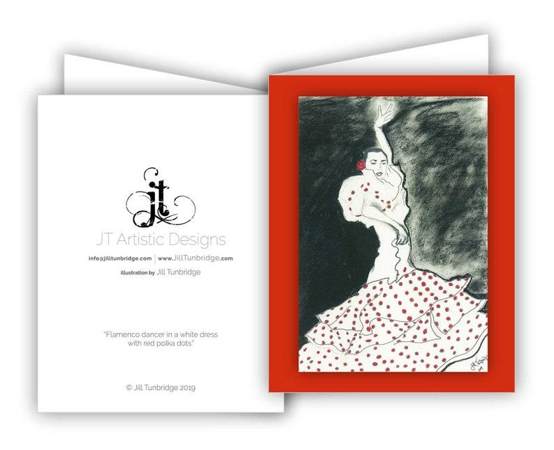 Flamenco Art  10 Card Set image 0