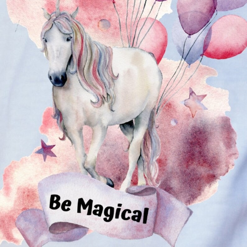 RB-29 Be Magical Unicorn Child Tote bag