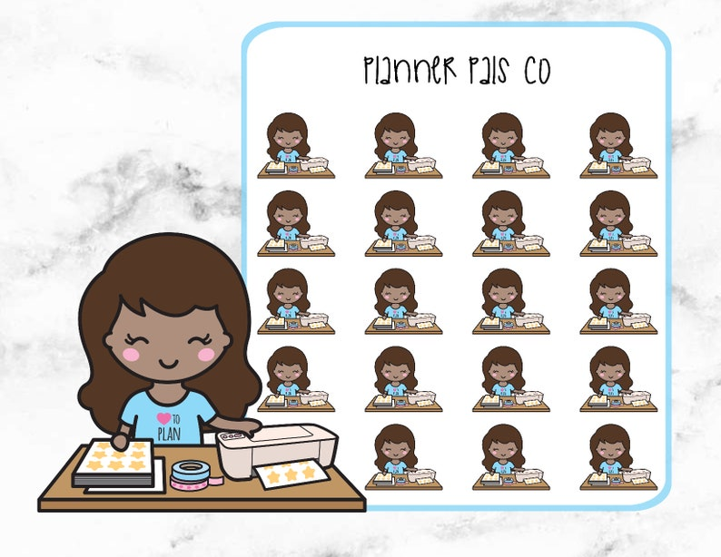 Planner Stickers Planner Girl Stickers Planner Girls Cutting Stickers