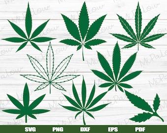 Marijuana Leaf Etsy