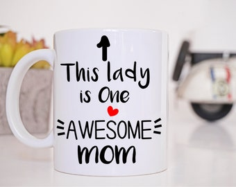 Funny Working Mom Mothers Day Birthday Gift Mug For Latte Cup Awesome Wife