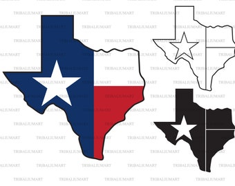 Png Texas Svg DXF Cutting Files SVG Dxf Files Lone Star State SVG Cut Files Instant Download