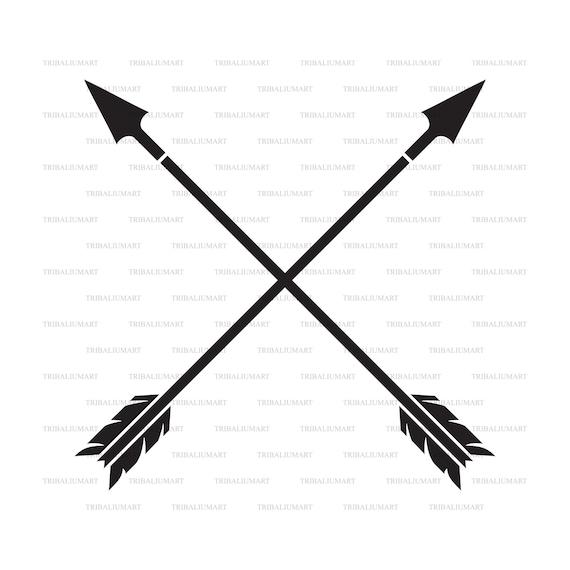 Clip Art silhouettes . eps, svg, pdf, png, dxf, jpeg Arrows collection Cut files for Cricut
