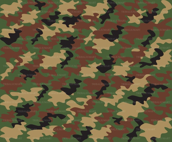 Camouflage Pattern Military Wallpaper Army Background Eps Svg Pdf Png Dxf Jpeg