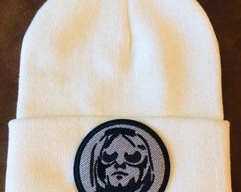 Nirvana Kurt Cobain Hat Winter White New 0154819526d