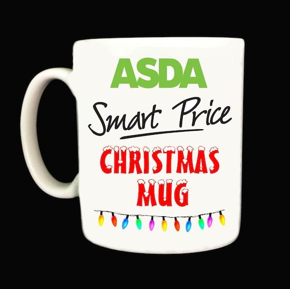 Asda Smart Price Christmas Mug Mugs Offensive Rude Joke Funny Xmas