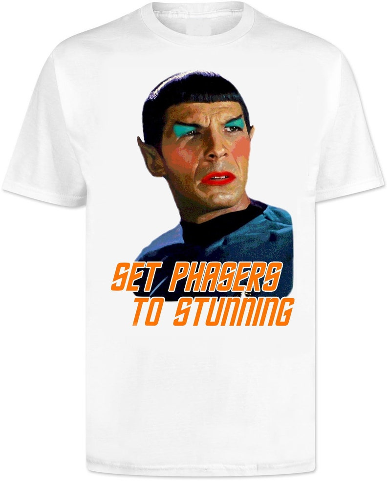 Star Trek Phasers Down Action All Over Print T-Shirt