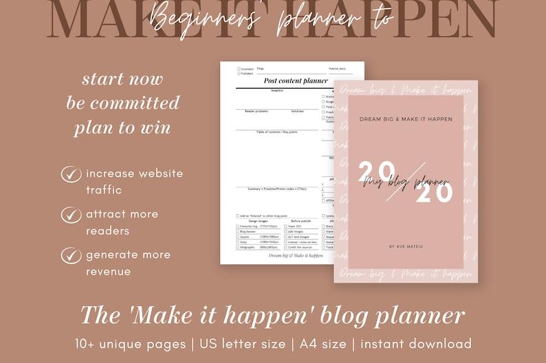 Blog Planner Blog Post Planner Guest Post Planner Review image 0