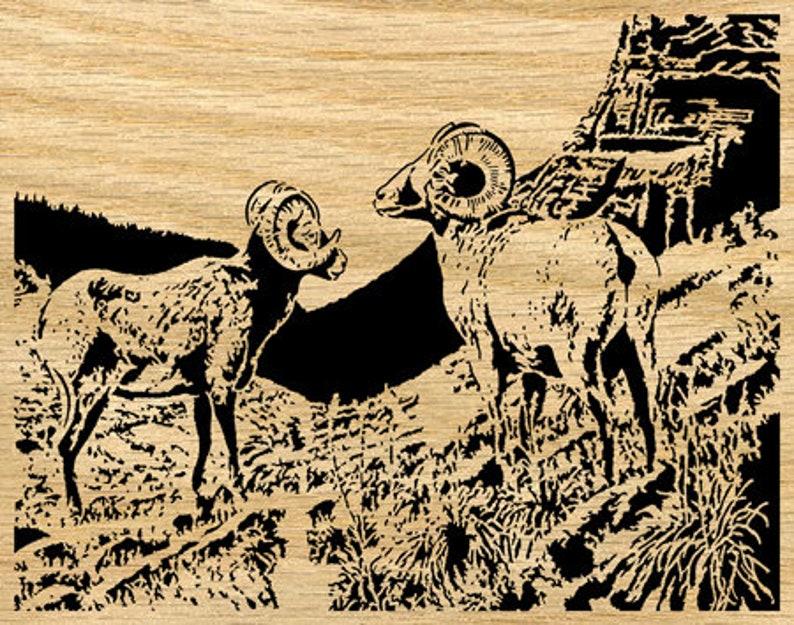 068mw Scroll Saw Pattern Mountain Sheep pdf