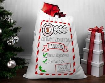 Delivery bag, Santa bags, Santa sack, Santa sack personalized, Christmas bags, kids santa sack, Christmas gifts for kids, Christmas gift