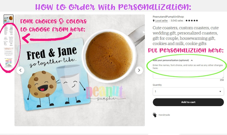 personalized wedding gift funny gift wedding gift cute coaster personalized coaster gift for couple Donut and coffee coaster