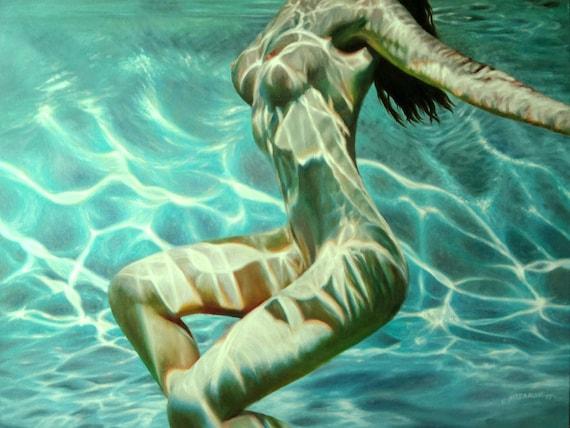 Nackt schwimmbad mädchen im Im Schwimmbad