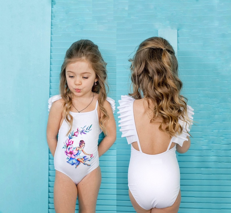 9f9e4c0aa4f1b Girl swimsuit toddler swimsuits for girls one piece | Etsy