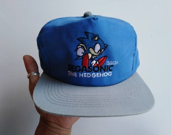 Sonic The Hedgehog Hat Etsy