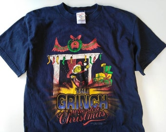 23c03b9876ac Merry Christmas the grinch vintage tshirt anime tshirt dr.seuss tshirt  movie tshirt seuss wear cartoon tshirt
