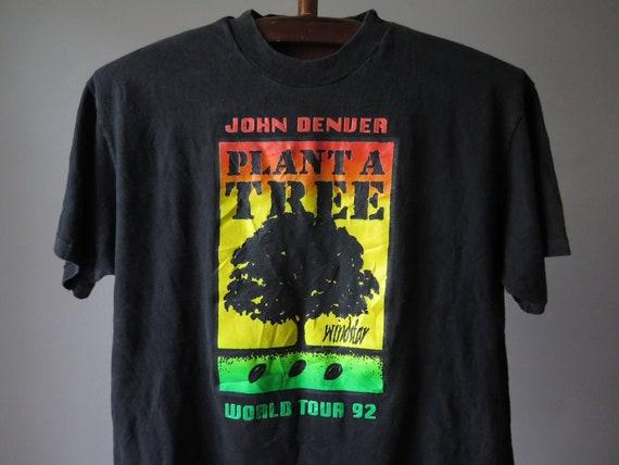 vintage john denver t shirt john denver plant a tr