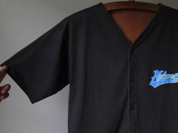 vintage helmet band t shirt baseball shirt frank … - image 3