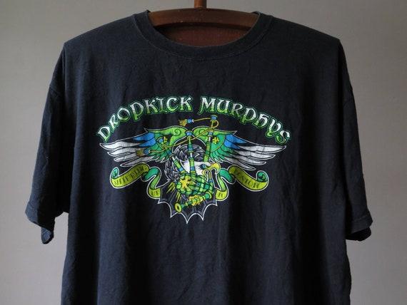 vintage dropkick murphys tshirt vintage punk rock