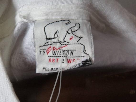 vintage  ty wilson tshirt vintage art tshirt vint… - image 4
