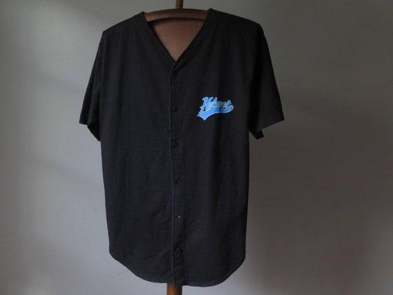vintage helmet band t shirt baseball shirt frank … - image 10
