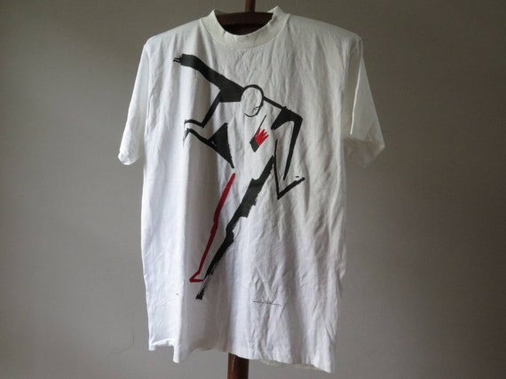 vintage  ty wilson tshirt vintage art tshirt vint… - image 1