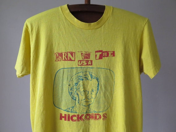 vintage the hickoids tshirt hickoids punk band tsh