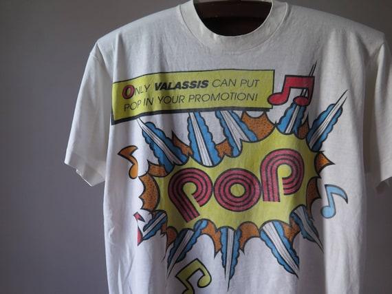 vintage pop art tshirt graphic tshirt art tshirt a