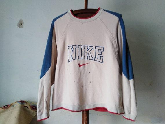 vintage nike sweater sweatshirt nike ripped long s