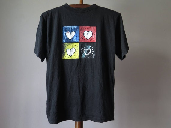 vintage the wonder suff tshirt hot love now e.p. … - image 7