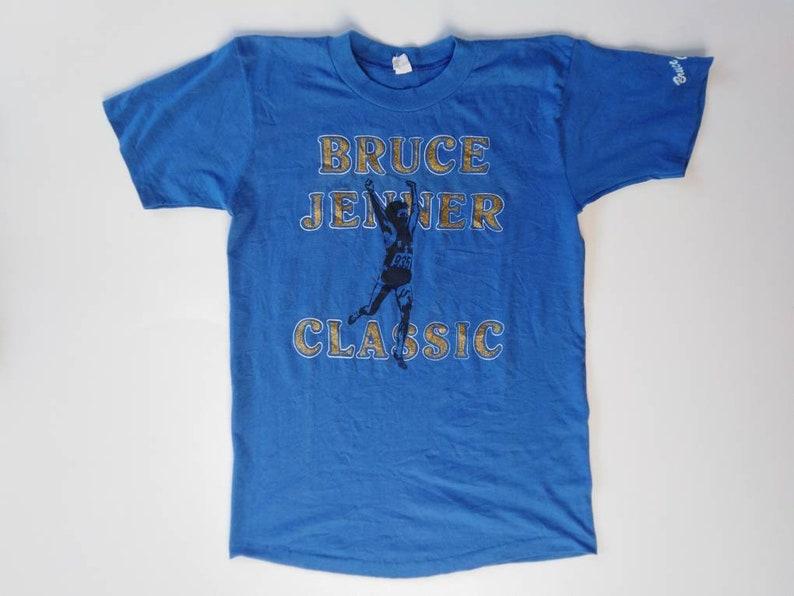 80s\u00a0Bruce Jenner Classic Vintage Tshirt