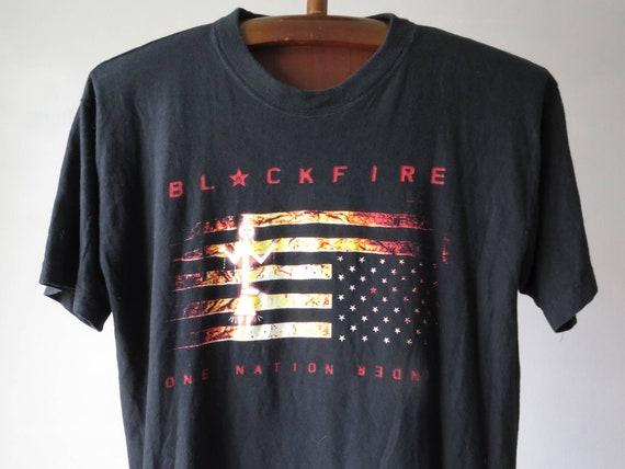 vintage Blackfire band tshirt native american punk