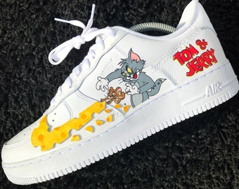 purchase cheap d2015 a1e3d Tom  Jerry Nike Air Force 1 Custom