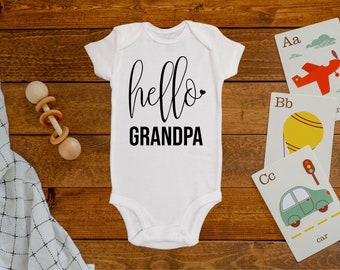 Funny Baby T-Shirt IF You Think IM Smart//Meet My Grandpa Toddler Tee