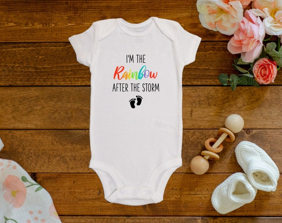 I\u2019m the Rainbow after the storm onesie
