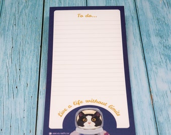 Magnetic To Do List Pad - Life Without Limits / Shopping list pad