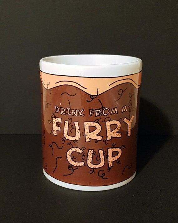 Funny Adult Mug Cup Drink From My Furry Etsy