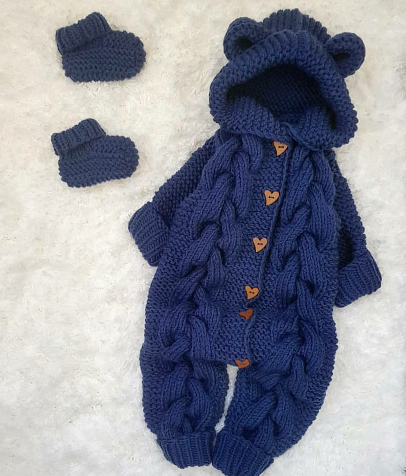 photo props Crochet baby romper,crochet baby booties,baby girl boy knitted jumpsuit,newborn baby winter clothes baby Christmas gifts