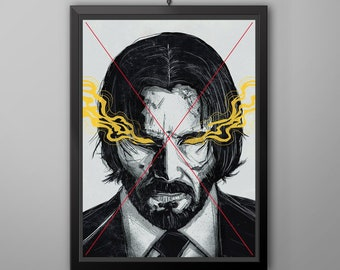John wick poster | Etsy