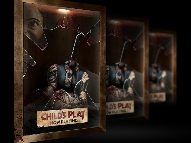 "Child/'s Play Poster Horror Movie 2019 Chucky Film Art Print 16x24/"" 24x36/"""