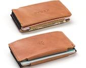 Minimalist Slim Leather Wallets front pocket slim card holder