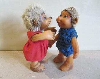 Steiff Steiff Macki  12 cm  Steiff  Mucki 12 cm  als Paar Igel Puppe Knopf Fahne