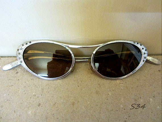Gold Shades Elvis Presley Costume Sunglasses Glasses 1950s Party 50s Rock N Roll