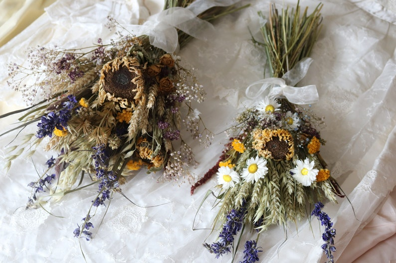 The Sunflower Wedding Bouquet