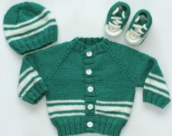 d4e5f3791 Striped baby sweater