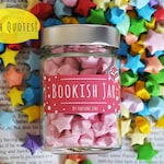 Bookish Stars With Book Quotes, Lucky Paper Stars, Hand Folded Stars, Home Decor, Origami Decoration, Paper Stars,Positive,Book Quotes, Gift
