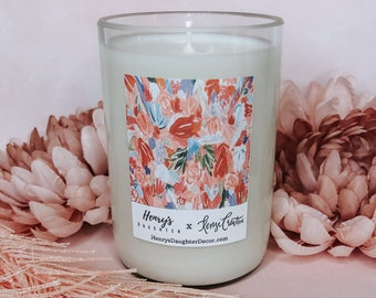 Artist Collaboration: Henry's Daughter x Kenzi Creative Candle Collection