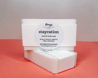 Staycation Palo Santo Triple Butter Hand & Body Soap