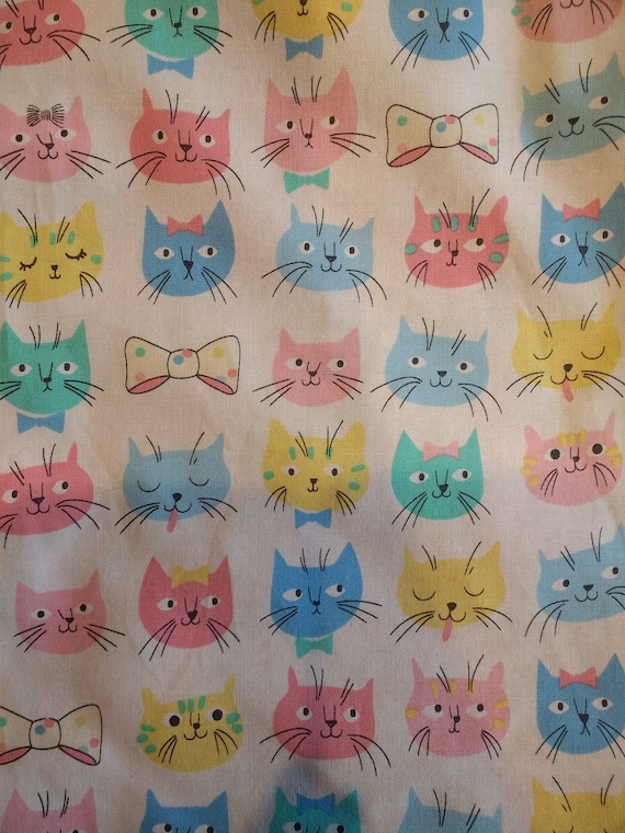 Organic Catnip Blankets - Pastel Faces
