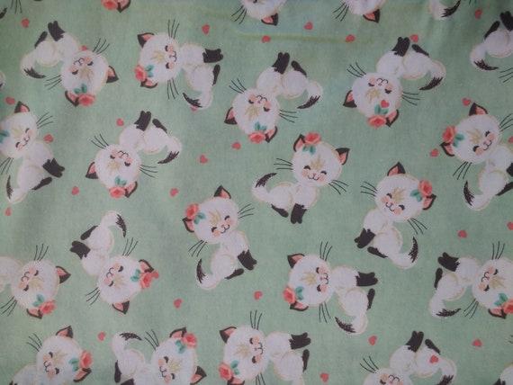 Organic Catnip Blankets - Siamese Cat Flannel