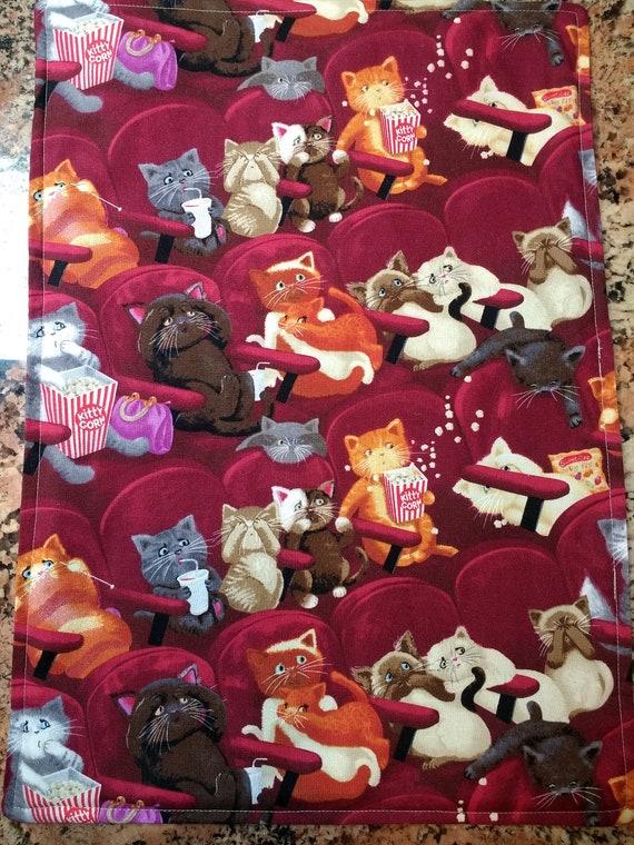 Organic Catnip Blankets- At the Mew-vies